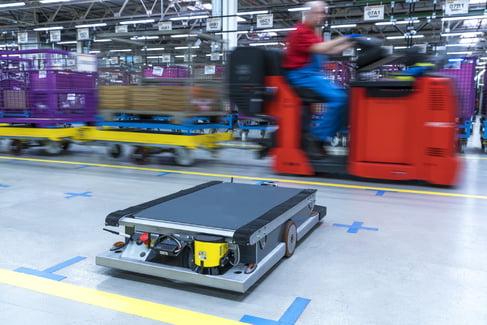 BMW selvkørende robot