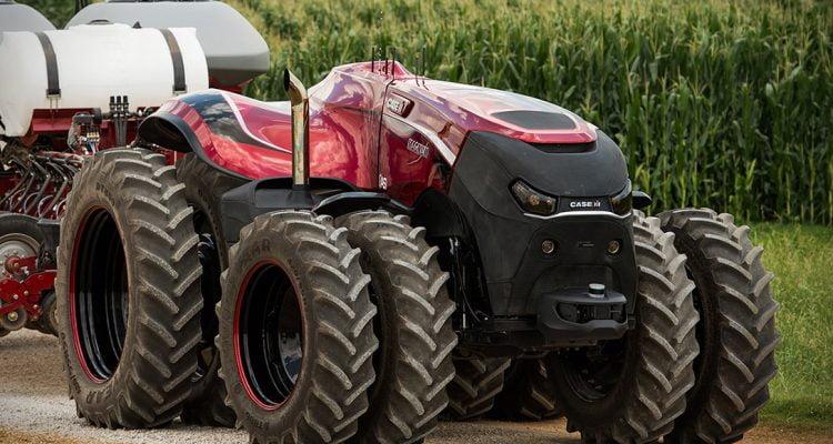 Case Autonomous Concept Vehicle - selvkørende trator