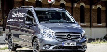 Mercedes og selvflyvende droner er fremtidens varevogn – siger Mercedes