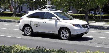 Googles Lexus SUV selvkørende bil