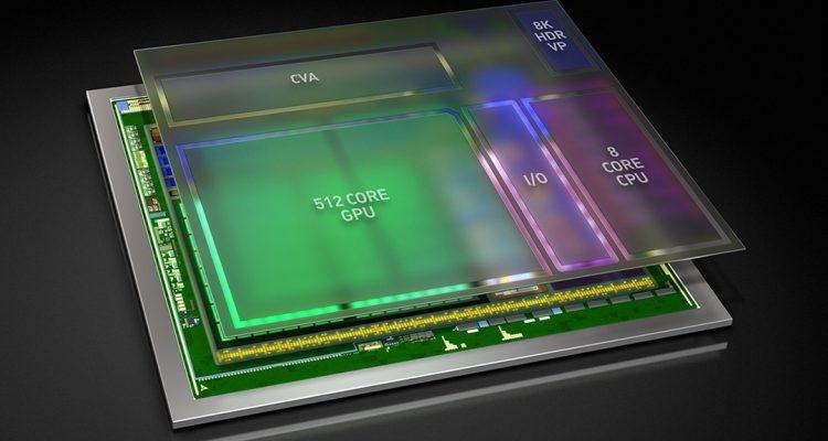 Nvidia Xavier SoC selvkørende bil chip
