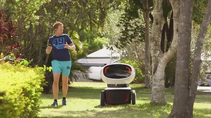 Domino's Pizza selvkørende robot DRU