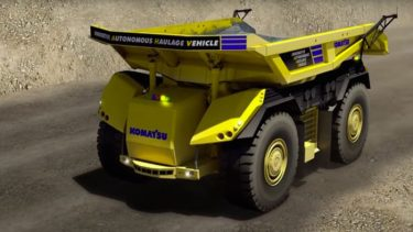 Komatsu selvkørende dump truck