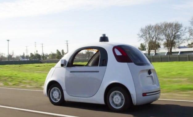 Googles selvkørende prototype bil uden rat og pedaler