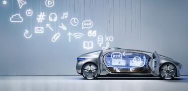 Hvordan virker selvkørende biler (her en Mercedes-Benz F 015)