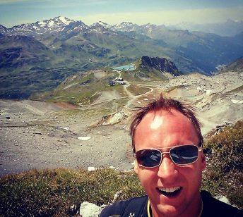Nicholas på toppen af Europa