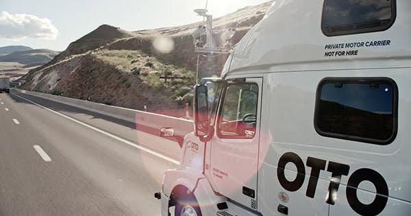 Otto Truck Lastbil selvkørende