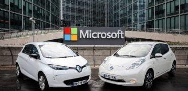 Renault-Nissan indgår samarbejde Microsoft om selvkørende biler