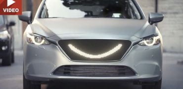 Simcon smilede selvkørende bil