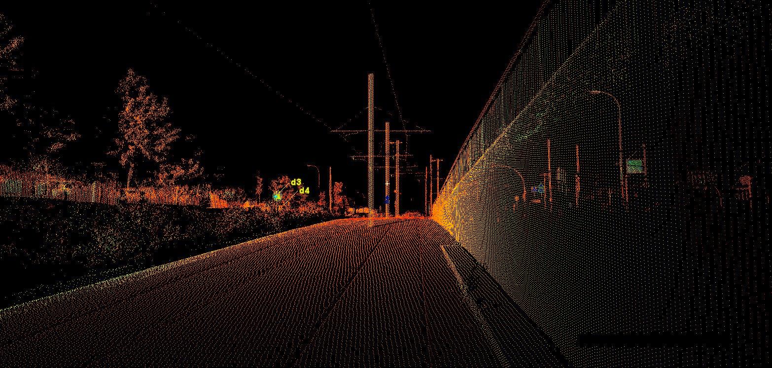 Højtopløseligt 3D-kort til selvkørende biler