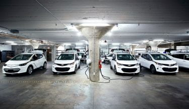 GM Chevy Bolts selvkørende elektrisk bil