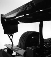 Roborace elektriske og selvkørende DevBot racerbil