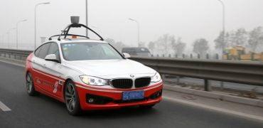 Baidu selvkørende BMW