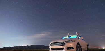 Ford selvkørende bil tester i Europa