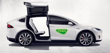Tesla selvkørende taxa