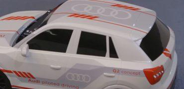 Audi Q2 selvkørende bil