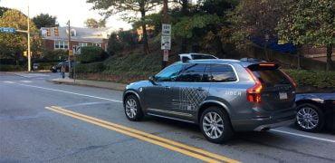 Uber Volvo selvkørende bil