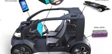 Honda NeuV selvkørende bil