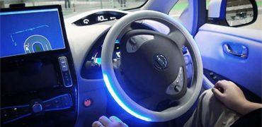 Nissan tester selvkørende vogne på gaden i London