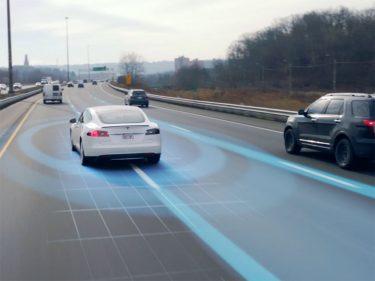 Tesla HW2 Autopilot 2 selvkørende bil