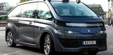Robo-Taxi Robo-Cab fra Navya