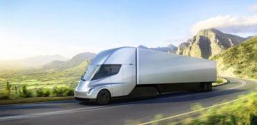Tesla Semi lastvogn 2017