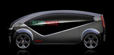 Danske Fisker bygger selvkørende minibus