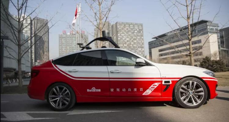Kinesisk selvkørende bil