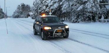 VIDEO: Finsk selskab viser selvkørende bil i snelandskab