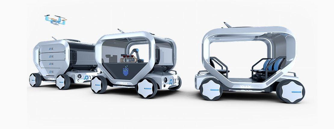 Pix selvkørende modular vogn