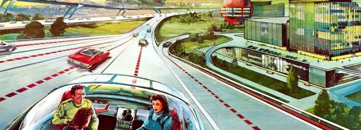 Selvkørende bil anno 1955