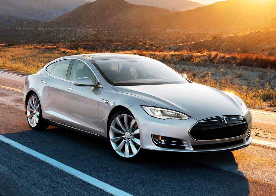 Selvkørende Tesla Model S