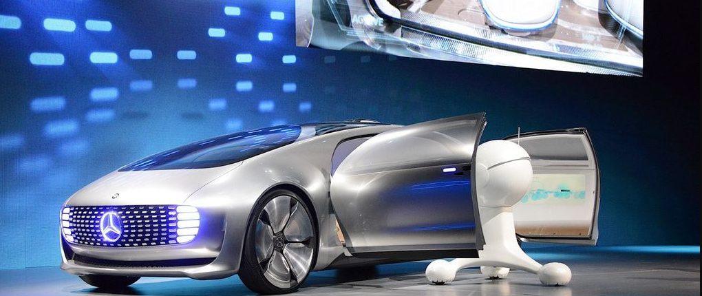 CES selvkørende bil fra Mercedes