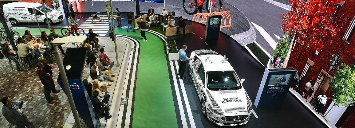 Ford selvkørende bil CES 2018