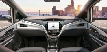 GM Cruise selvkørende bil fra 2019