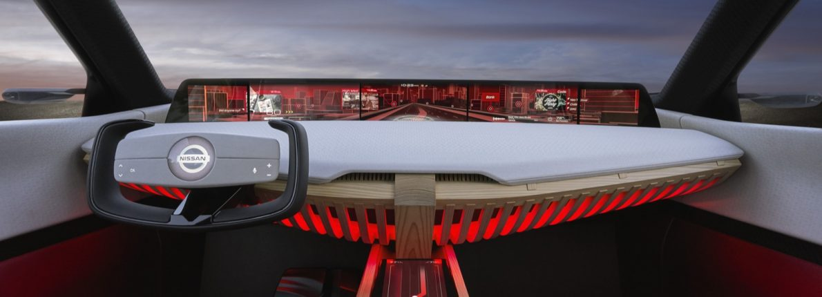 Nissan Xmotion koncept - selvkørende bil