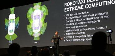 Nvidia Drive Pegasus Robotaxi
