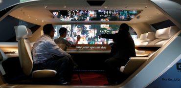 Panasonic laver stuekabine til selvkørende biler