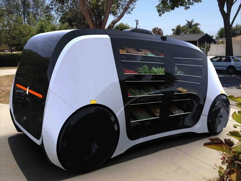 Robomart - det selvkørende supermarked