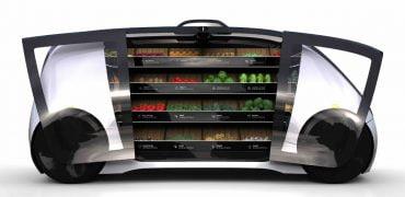 Robomart det selvkørende supermarked