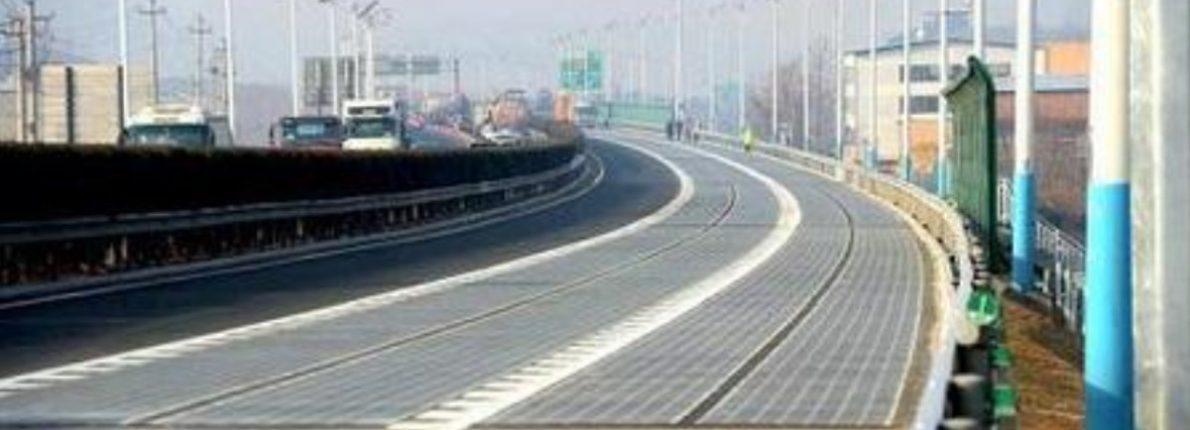 Ny solcelle vej i Kina