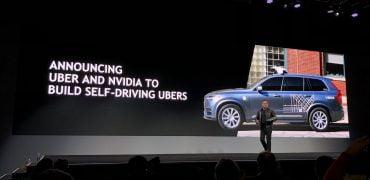 Uber Nvidia Pegasus