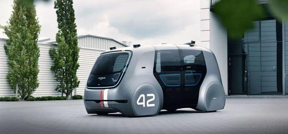 VW Hyundai Aurora selvkørende bil