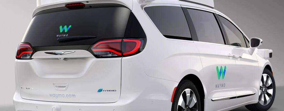 Waymo selvkørende bil bagklap