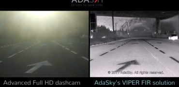 Adasky infrarød kamera til selvkørende biler