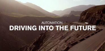 Volvo tror på selvkørende lastbiler med chauffør
