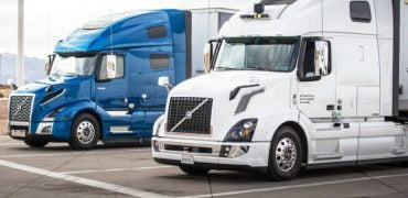 Ubers selvkørende lastvogne er begyndt at fragte gods