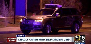Selvkørende Uber bil i dødeligt uheld