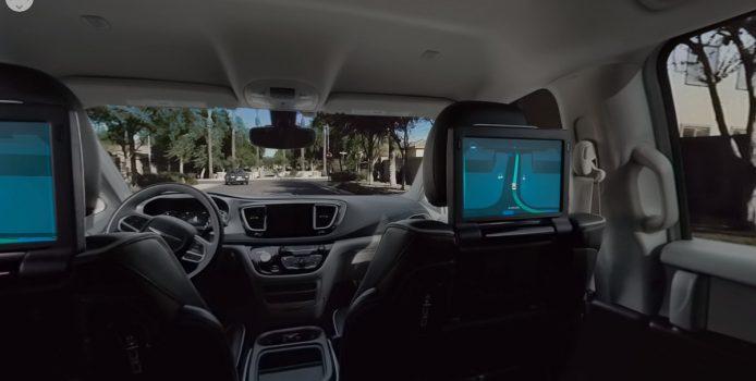 Waymo selvkørende bil 360 grader