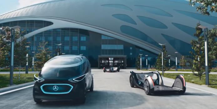 Mercedes selvkørende fremtid